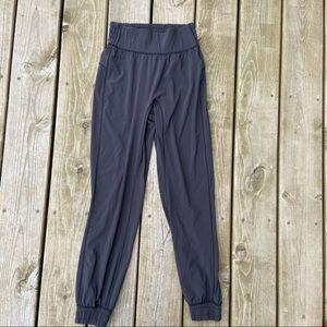 Lululemon sun setter jogger pants gray size 2
